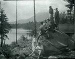 At York's Camp 1928 by Bert Call