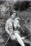 At Deer Pond (Miss Brubaker) by Bert Call