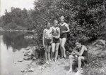 Lake Hebron - Monson, Maine, July 12, 1931 by Bert Call
