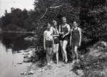 Lake Hebron, Monson, Maine, July 12, 1931