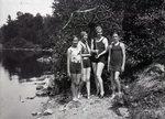 Lake Hebron, Monson, Maine, July 12, 1931 by Bert Call