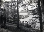 Houston Pond Arnold Camps by Bert Call