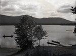 Big Lyford Pond Sherman Camps by Bert Call