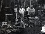 Big Lyford Pond Sherman Camps by Bert Call