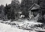Big Sourdnahunk Lake Charles Daisey's Camps by Bert Call
