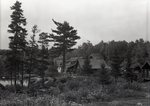 Katahdin and Daicey Pond Falls and Camp View by Bert Call