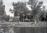 Mower Cottage Lake Wassookeag 1935 by Bert Call