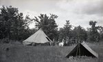 Rifle Range - Tents 1935 by Bert Call