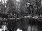 Natarswi Scout Camp - Togue Pond - 1936 by Bert Call