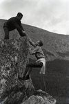 Climbing Katahdin by Bert Call