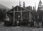 Katahdin Area State Camp Group at State Camp by Bert Call