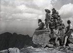 Hiking Group at Top of Katahdin by Bert Call