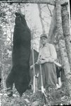 Bert Call and His Bear by Bert Call