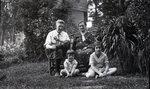 Bert Call and His Family by Bert Call