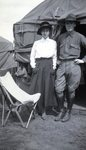 At National Guard Camp by Bert Call