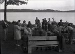 Picnic - Group Unidentified by Bert Call
