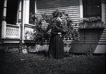 Female in Yard by Bert Call