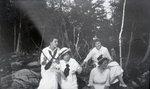 Four Females (circa 1917-1918) by Bert Call