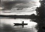 Mary in Kayak by Bert Call