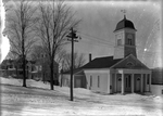 Baptist Church, Dexter, Maine by Bert Call