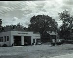 Service Center, Esso Station by Bert Call