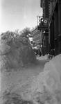 Street In Winter, Dexter by Bert Call