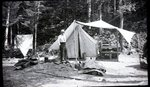 Katahdin Area?, Piscataquis County, Maine, camp by Bert Call