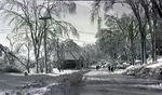 Maine Winter Scene by Bert Call