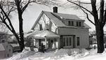 Dexter, Maine, House in Winter by Bert Call