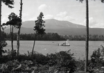 Natarswi Scout Camp, Swimming at Togue Pond by Bert Call