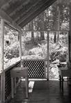Rangeley Area Camp Porch by Bert Call