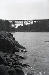 Onawa Area Railroad Bridge by Bert Call