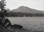 Borestone Mountain and Lake Onawa by Bert Call