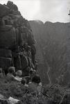 Women Overlooking Mount Katahdin by Bert Call