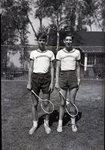 Wassookeag School Tennis Players by Bert Call