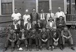 National Youth Administration Staff Members, Dexter, Maine by Bert Call