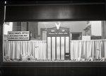 Dexter Town Office Window, Memorial Honor Roll by Bert Call