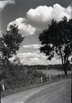 Gravel Road near Lake Wassookeag by Bert Call