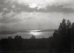 Maine Lake Scene by Bert Call
