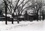 Winter Town Scene by Bert Call