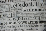 Creativity vs Covid_ COVID News 2020 Collage Mask_Image 2 by Adriana Cavalcanti