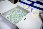 COVID-19 Images_Marketing & Communications_COVID Testing_Tubes by University of Maine Division of Marketing & Communications and Adam Küykendall