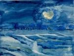 ART 460 - COVID dances across the sea by Cheryl Coffin
