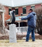 Teaching Sculpture Photograph by Gregory Ondo