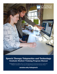 University of Maine, Speech Therapy Telepractice and Technology Program Manual