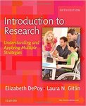 Introduction to Research: Understanding and Applying Multiple Strategies by Elizabeth DePoy and Laura N. Gitlin