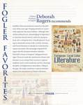 Fogler Favorites - European Local Color Literature