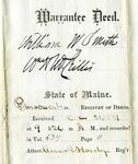 McCrillis (William H.) Papers, 1830-1982