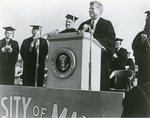 Kennedy, (John F.) Visit to the University of Maine, 1963-1983