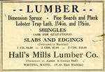 Halls Mills Lumber Company Records, 1855-1975
